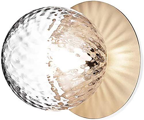 Wall Light Nordic glazen bol, de plafondlamp 16 cm moderne bol wandlamp G9 wandmontage glas wandlamp vrij afdekking Decor Light fixtures voor hal