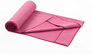 Invisible Silicone Yoga Towel, Yoga Partner Soft, Sweat-Absorbent, Silicone Particles are Not Easy to Move. Suitable for Hot Yoga Pilates