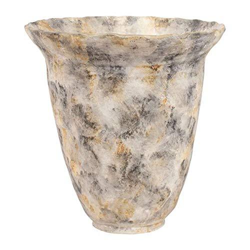 COTE TABLE Pot Gris en Terre Cuite 45x46 cm