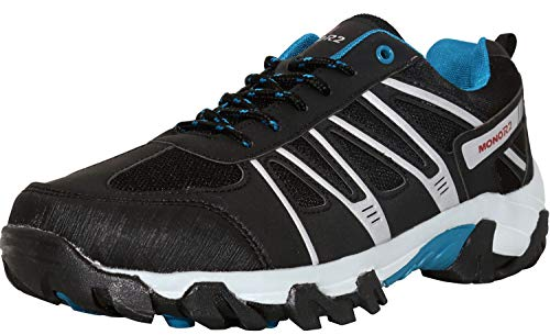 Breathable Lightweight Trekking, Walking, Work Sneakers for Men/Women (Black 9)