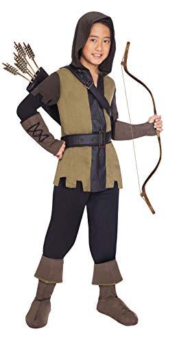 Clarendon Costumes By Amscan Disfraz de Robin Hood de Lujo para niños del príncipe de los Ladrones