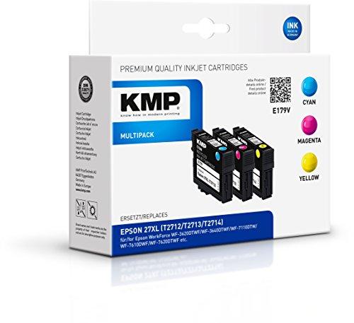 KMP Multipack für Epson WorkForce WF-3600/WF-7600, E179V