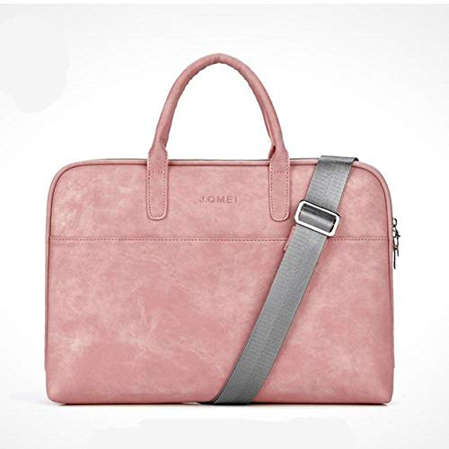 Fashion Pu Waterproof and Scratch Resistant 13 14 15 Inch Laptop Briefcase for Laptop Shoulder Bag
