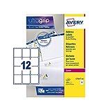 Avery L7164-100 Bianco Etichetta autoadesiva etichetta per corrispondenza...