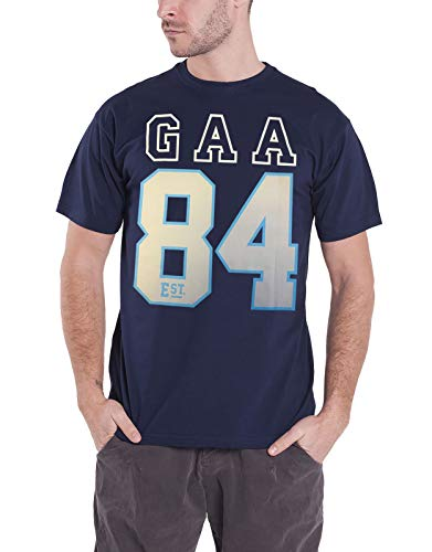 GAA offiziell Herren T Shirt Established 1884 Hurling Sport Logo Hurling Nue