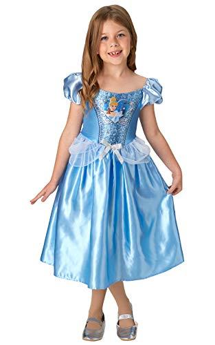 Rubie's officiële Disney prinses Sequin Assepoester klassieke kostuum, kinderen