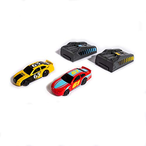 Far Out Toys NASCAR Crash Circuit Vehicles (Pack of 2) | Electric Powered Cars, 2 Flash Chargers | Race, Wreck, and Rebuild! | Capture The Momentum and Thrill of Nascar