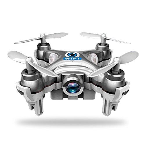 Rubility2.4G Mini Quattro assi Wifi FPV quadricottero Drone in tempo reale Drones aeromobili sottoposti al Telefono