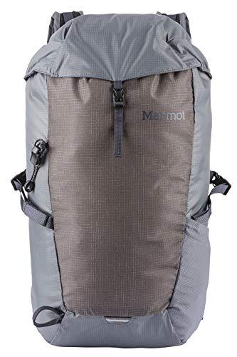 Marmot Kompressor, ultra-leichter Rucksack, Daypack, Tagesrucksack, faltbar, 18 L Fassungsvermögen, wiegt nur 290g ,Cinder/Slate Grey