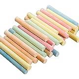 MAID Dibujo Tiza de la acera, Pintura de la Tiza, sin Polvo de Tiza de Pintura for niños Maestro fácil de Limpiar y Suavizar la Escritura (Color : 100pcs)