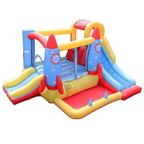 AJH Niños Inflatable Outdoor Hinflatable - Castillo hinchable para interior y exterior