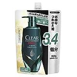 【Amazon.co.jp限定】 CLEAR(クリア) フォーメン トータルケア スカルプ シャンプー つめかえ用 詰め替え3.4回分