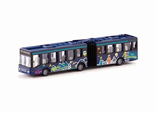 siku 1617, Gelenkbus, Metall/Kunststoff, Multicolor, Vielseitig einsetzbar, Spielzeugfahrzeug für Kinder