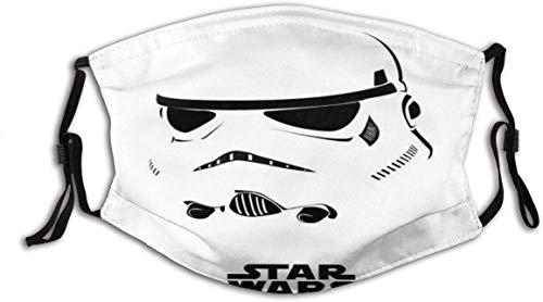Protector facial de Star-Wars (14) Unisex lavable y reutilizable de algodón cálido protección facial para decoración facial al aire libre