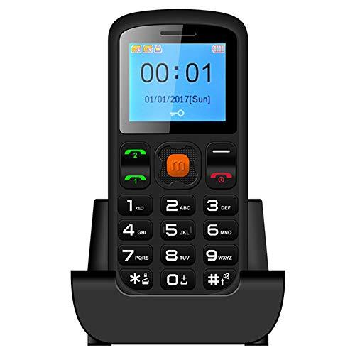 smart phone Teléfono móvil teléfono móvil para Personas Mayores teléfono móvil Fijo de casa móvil fácil de Usar con Base teléfono móvil Doble Tarjeta Doble Modo de Espera