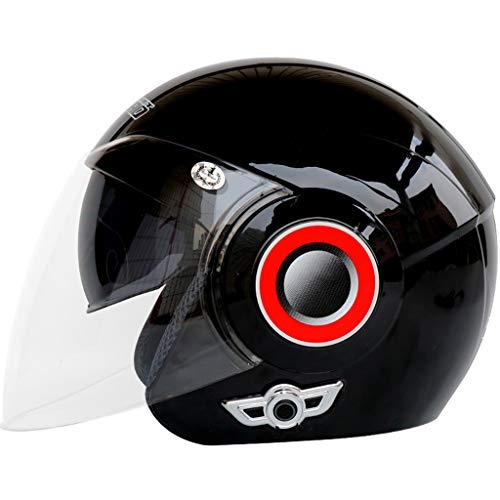 Casco da Moto AILSAYA Casco modulare Bluetooth Integrato Doppia Lente Aperta per Moto Elettrico Anti-Appannamento Casco da Moto Standard