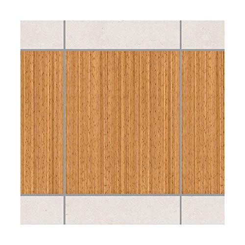 Apalis Fliesenaufkleber Fliesenbild Fliesen-Deko Bambus Set 20teilig 25x20cm