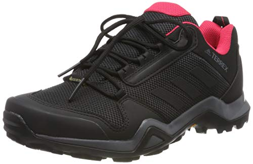 adidas Damen Terrex AX3 GTX W Trekking- & Wanderhalbschuhe, Mehrfarbig Carbon Negbás Rosact 000, 38 EU