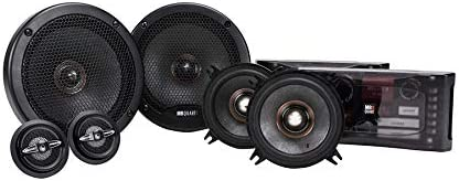 MB Quart 5 popular PS1-316 Indefinitely Premium 3-Way Component Black Speaker System