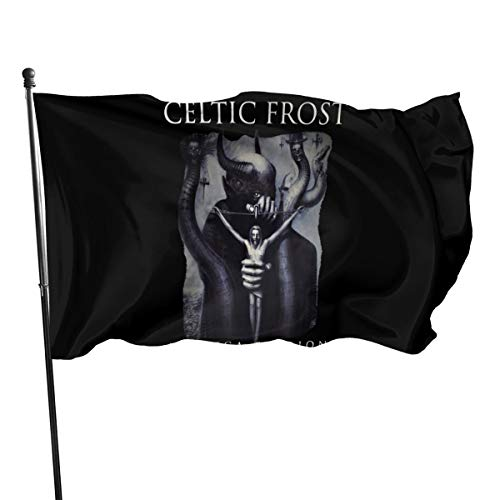 HasraMacias Outdoor Garden Flag Celtic Frost Flags 3×5 Ft Banner Single-Sided Home Decor Flag for Thanksgiving Halloween Christmas