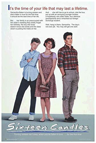 Sixteen Candles Official Movie Poster - 24' x 36'