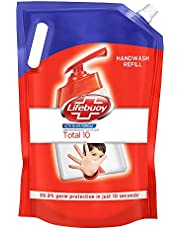 Lifebuoy Total 10 Active Silver Formula-Germ Protection Handwash Refill, 1.5 L