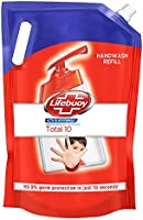 Lifebuoy Total 10 Liquid Handwash Refill With 99.9% Germ Protection Fights Bacteria And Viruses, Maintains Hand Hygiene,...