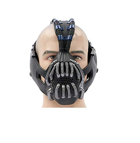 Liuyb Batman Bane Mask Adult Mask for Batman The Dark Knight Rises Cosplay Costume Halloween Cosplay Batman Mask Props