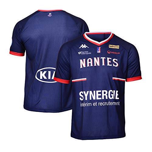 Nantes buty sportowe Hermine Nantes oficjalna koszulka outdoorowa 2018-2019 koszykówka dzieci XS niebieski