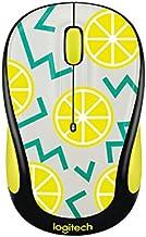 Logitech Play Collection M325c Mouse - Optical - Wireless - Radio Frequency - Lemon - Usb - 1000 Dpi - Tilt Wheel - 5 Butt...