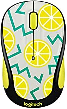 Logitech Play Collection M325c Mouse - Optical - Wireless - Radio Frequency - Lemon - Usb - 1000 Dpi - Tilt Wheel - 5 Button[s]