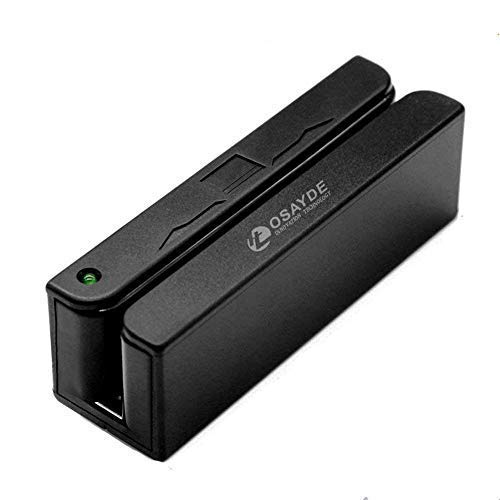 ITOSAYDE MSR90 USB Magnetic Strip Card Reader 3 Tracks Mini mag Hi-Co Swiper by Card Device