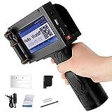 Impresora de inyección de Tinta portátil MATHOWAL con Pantalla táctil LED HD...
