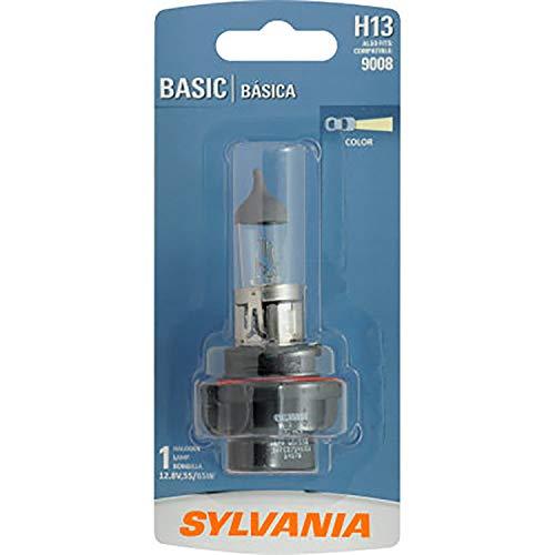 Sylvania H13 / 9008 Basic Auto Halogen Headlight, Pack of 1.