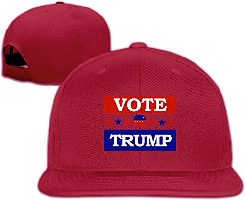 Men's Sandwich Cap Anti Trump 2020 Baseball Caps Mesh Hat for Women,Dark Red,One Size