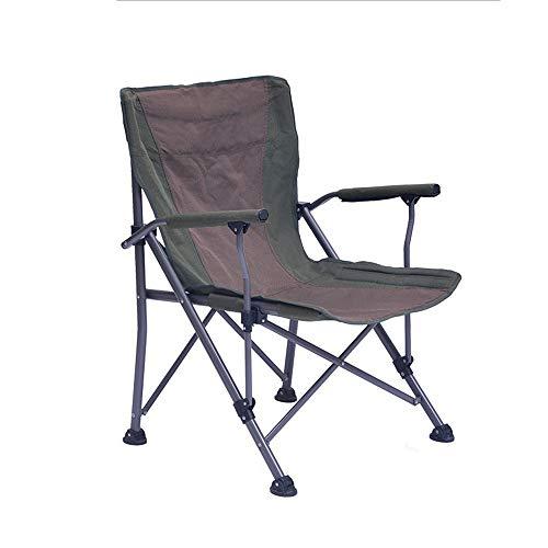 Daily necessities LTD [ZZHQ] Silla Plegable para Camping, Prácticamente Robusta para Acampar, Pescar, Viajar
