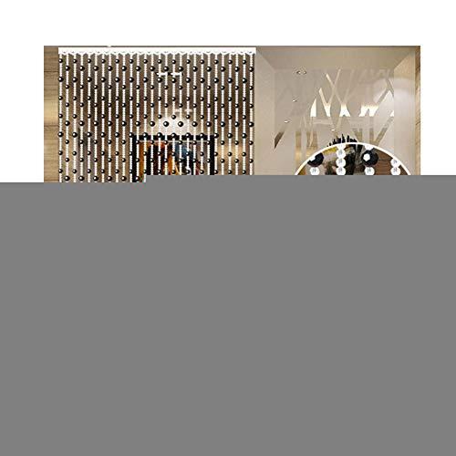 WYAN Con Cuentas de Cristal Cortina de Puerta de Cadena de Moda de la Fiesta de la Boda decoración de la Pared Decoración Separador de Habitaciones (Color : Gold, Size : 120X200CM)
