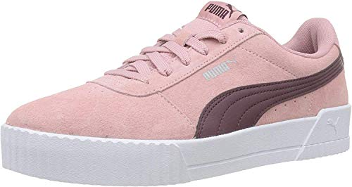 PUMA Damen Carina Sneaker, Bridal Rose-Vineyard Wine, 37.5 EU