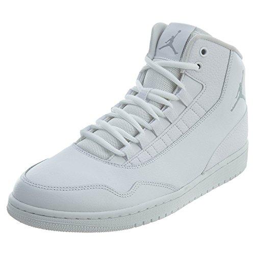Nike JORDAN EXECUTIVE, Herren Hallenschuhe, Mehrfarbig (White/Wolf Grey/White 100), 45 EU