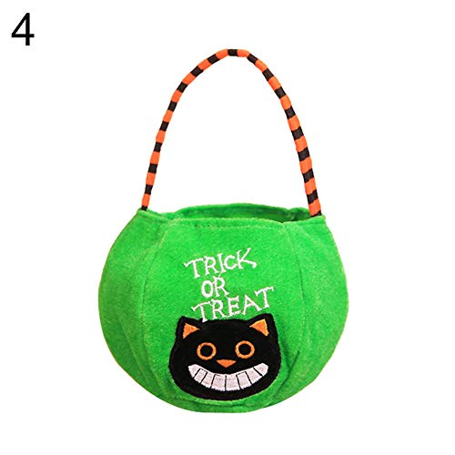 Lai-LYQ Halloween cadeauzakje pompoen heks behandeling kinderen snoepzak feestjes decoratie