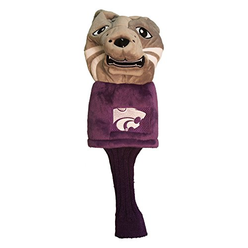 Review Team Golf NCAA Kansas State Wildcats Mascot Golf Club Headcover, Fits most Oversized Drivers,...