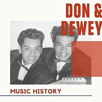 Don & Dewey - Music History