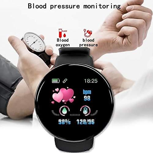 Smartwatch unisex in stile casual, di forma rotonda