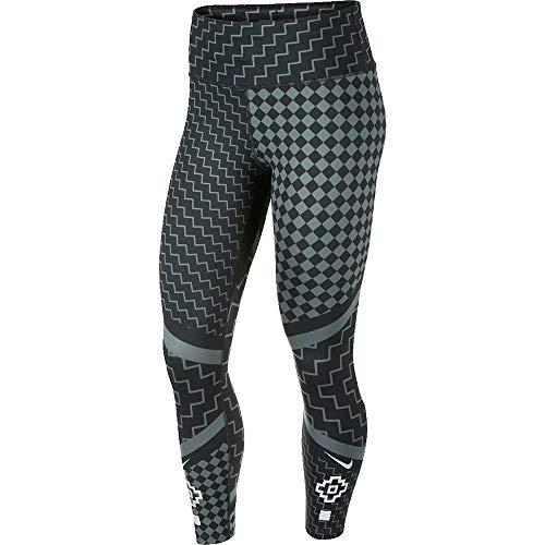 Nike Damen W NK Epic LX TGHT 7_8 RNWY PR Hose, Iron Grey/Reflective Silv, L