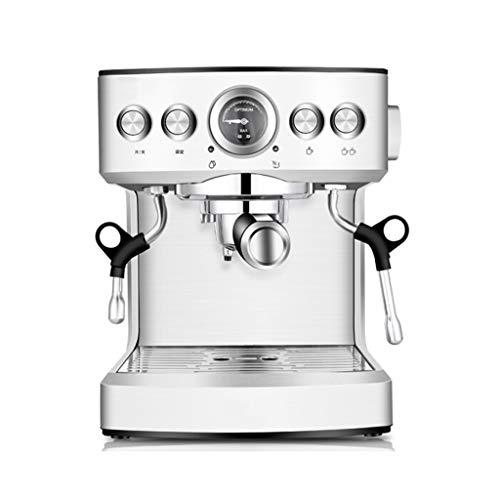 ZYY espressomachine, digitaal koffiezetapparaat 1150 watt • 19 bar • 2100 ml waterreservoir • Geschikt voor thuis, winkel, feest