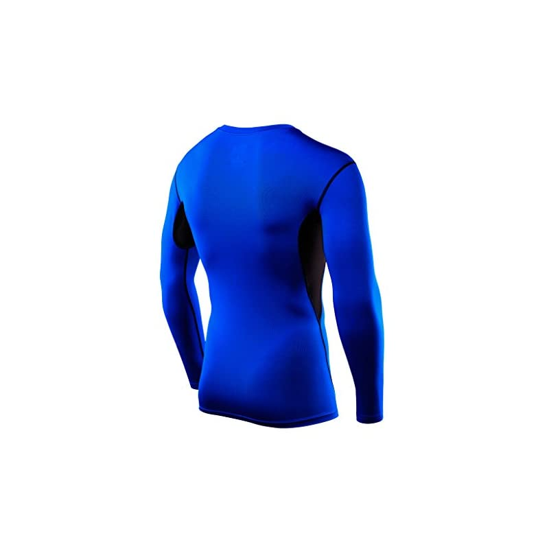 TCA Men's & Boys' Hyperfusion Compression Base Layer Top Long Sleeve Under Shirt