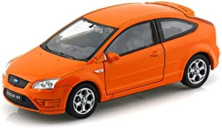 New 1:32 Display WELLY Collection - Orange Ford Focus ST Diecast Model Car by Welly