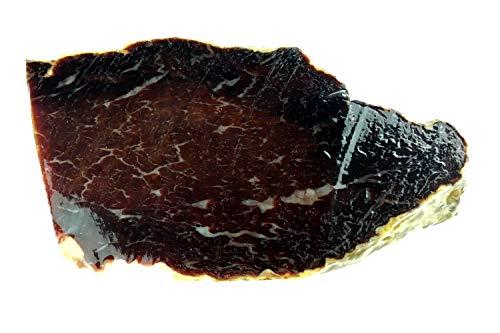 Cecina de León, Rinderschinken, geräuchert und 1 Jahr luftgetrocknet am Stück ca 500g, Dörrfleisch vom Rind aus Spanien
