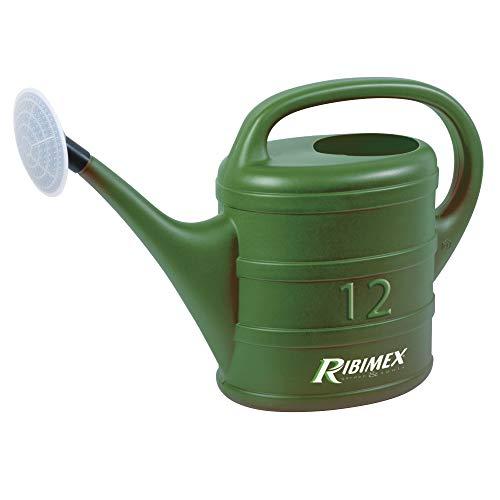 Ribiland 00588 Arrosoir Plastique Vert 12 L