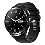 Smart Watch for Men, Allcall 4G Smartwatch for Android and iOS Phones 1.6 Inch Touch Screen Activity Tracker with Face Unlock, Fitness Tracker with GPS, Heart Rate Monitor, Dual Cameras, 3GB+32GB